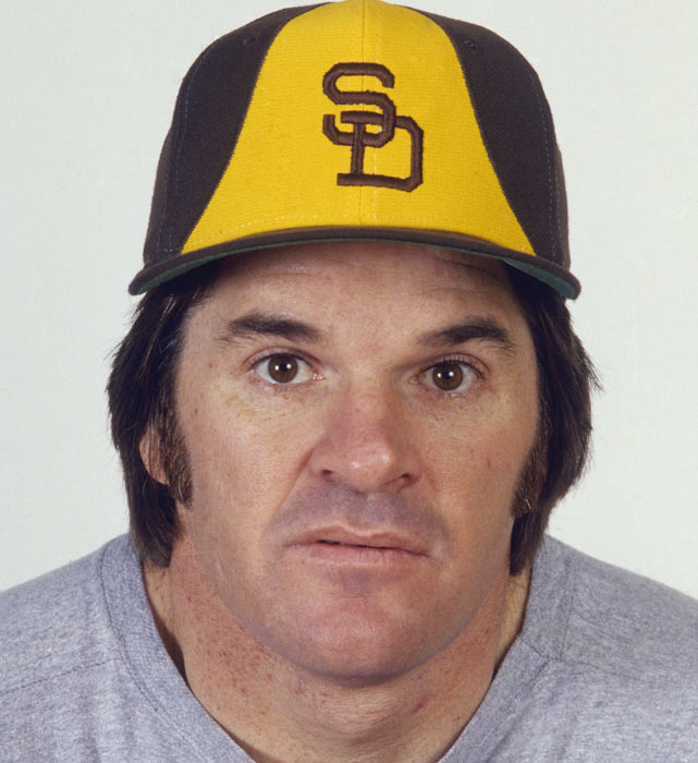 Pete Rose and the San Diego Padres  LobShots