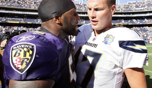 I Want A Ray Lewis Vs Philip Rivers Fist Fight On Sunday