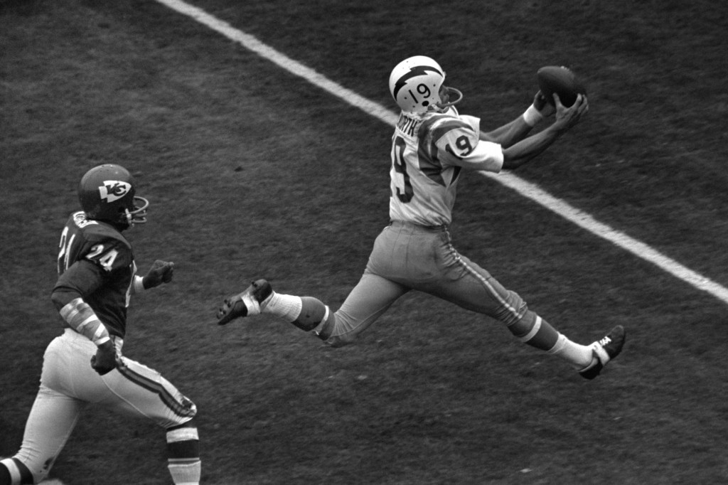 Lance Alworth Catching Happy Birthday  Lance Alworth