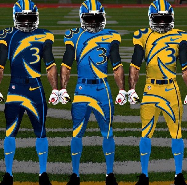 The Chargers Uniform You Ve All Been Waiting For Lobshots