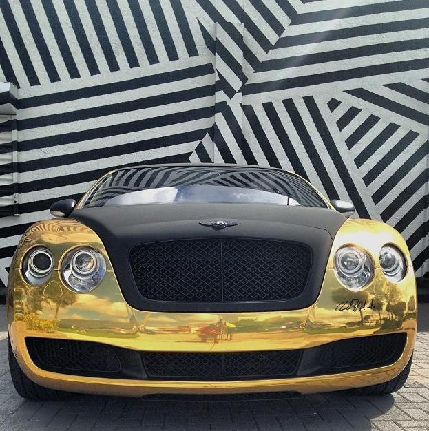 chargers-gold-bentley