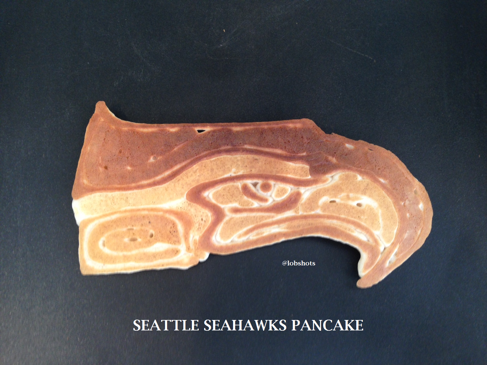 SEATTLE SEAHAWKS PANCAKE