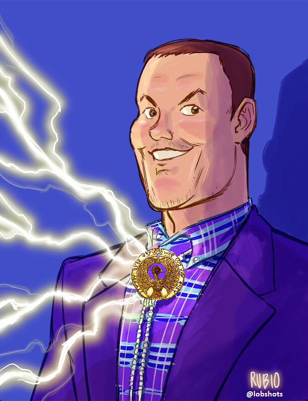 philip-rivers-bolo-tie-art-chargers-lost-ark-ra